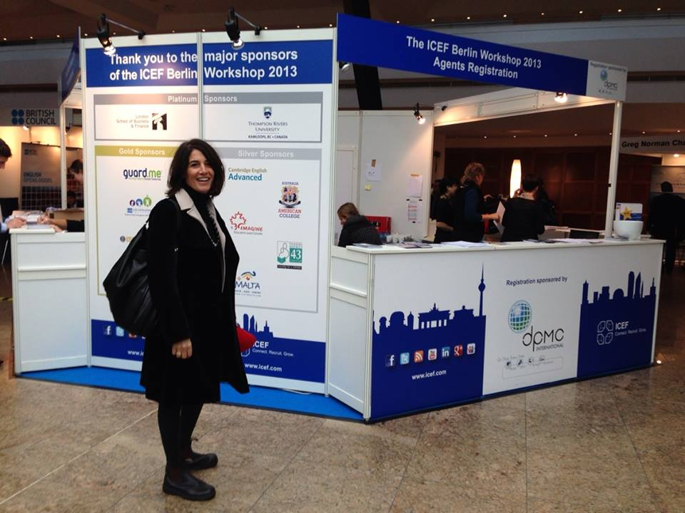 Maria ICEF conference in Berlin